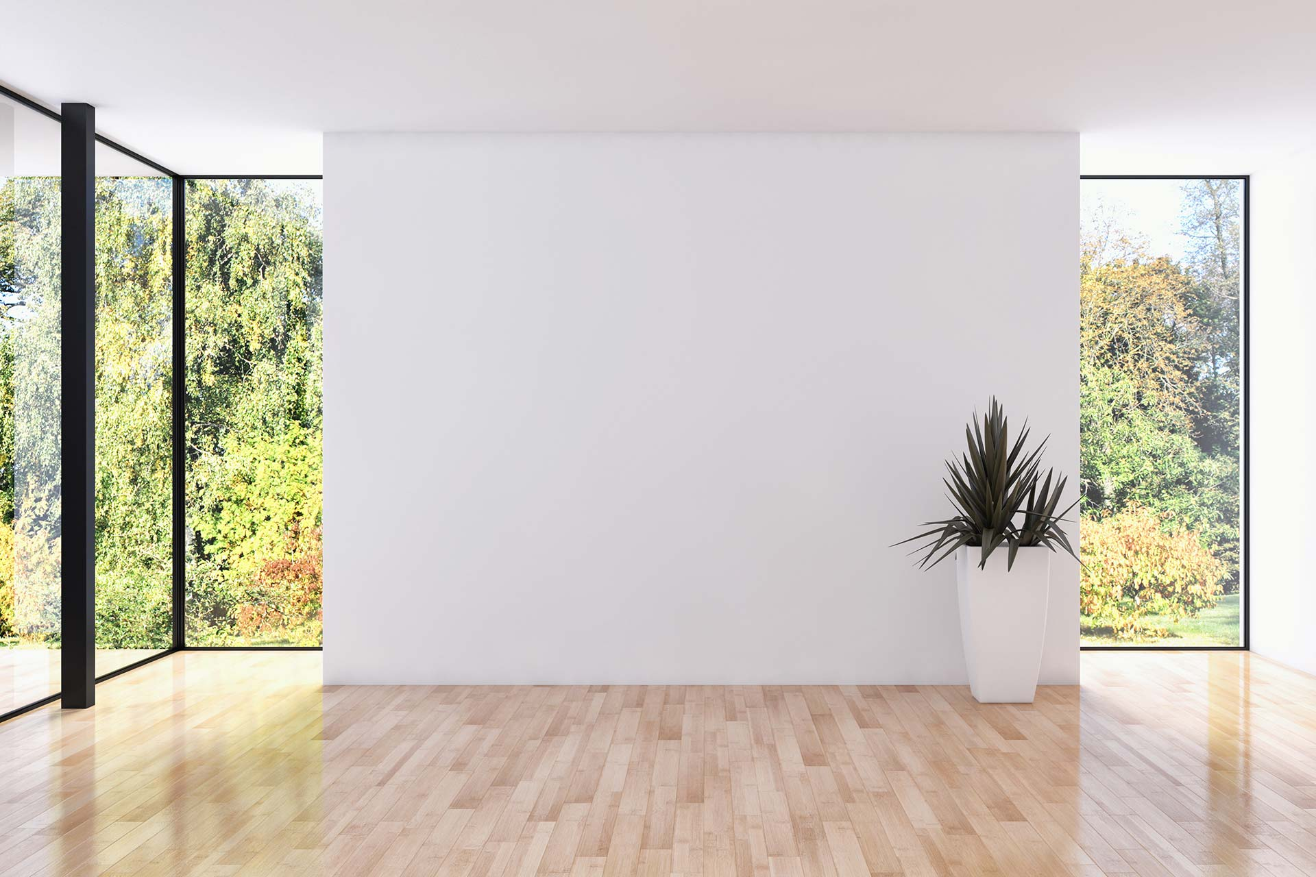 Putzarbeiten - Modernes, helles Apartment