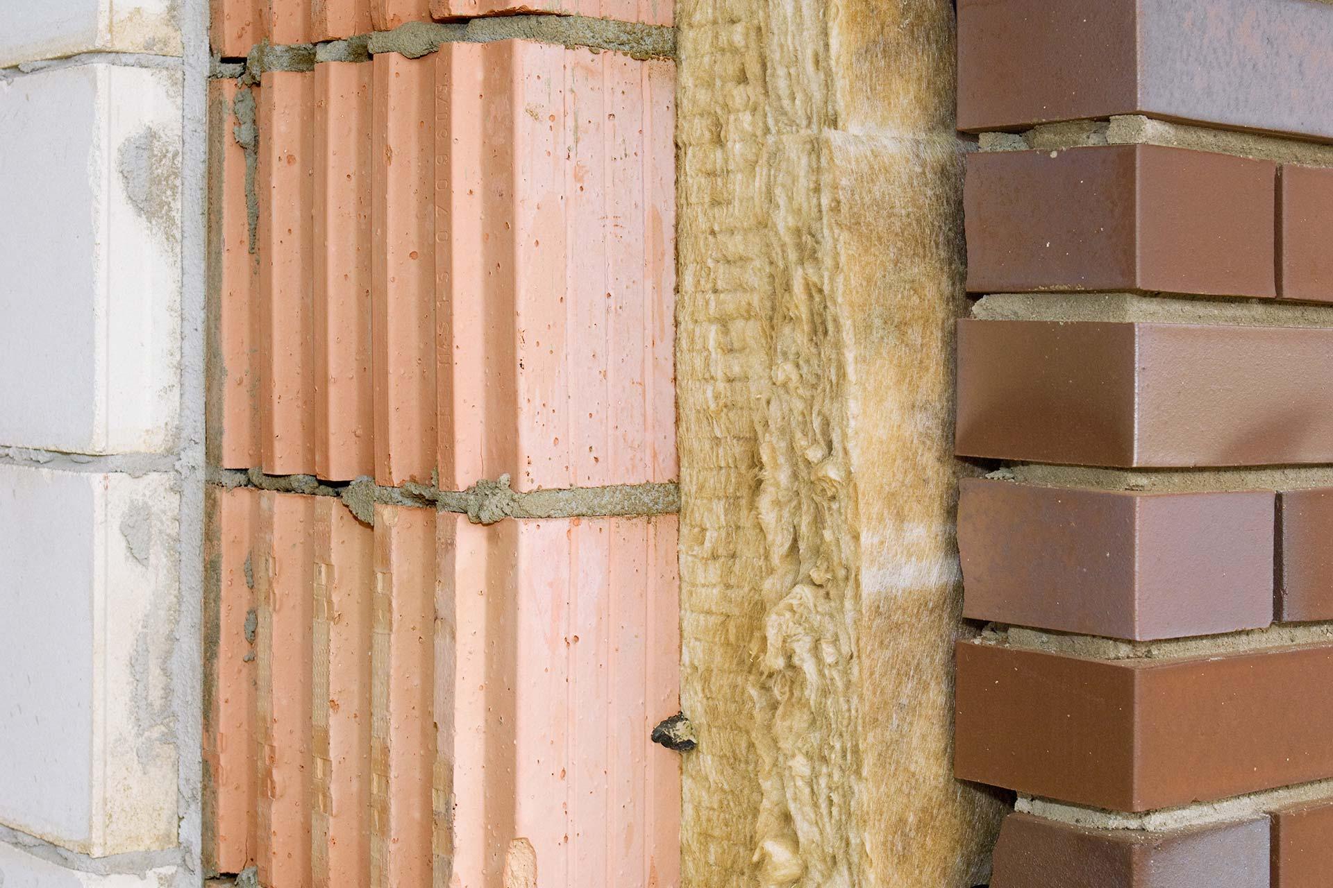 Vollwärmeschutz - Wärmedämmung an einer Außenwand